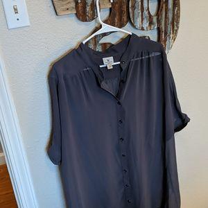 Dark grey blouse